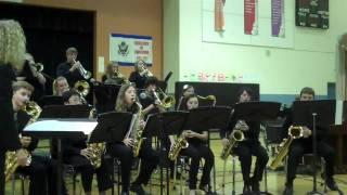 Desert Sky Middle School Jazz 1 winter concert 2011-2012 (8th grade)