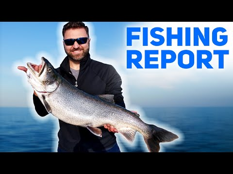Fall Fishing Is On In Alpena, Michigan! - FISHING REPORT