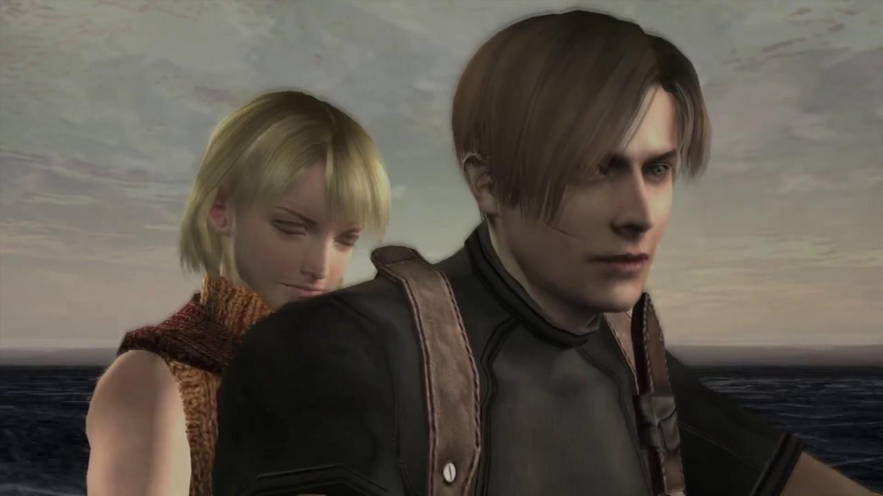Resident Evil 4 Ashley Hits On Leon Ps4 Pro Cutscene Youtube