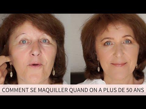 Comment se maquiller quand on est une femme de plus de 50 ans ?