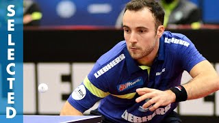 Maksim Grebnev vs Simon Gauzy (TTBL Selected)