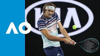 Marco Cecchinato vs. Alexander Zverev - Match Highlights (R1) | Australian Open 2020