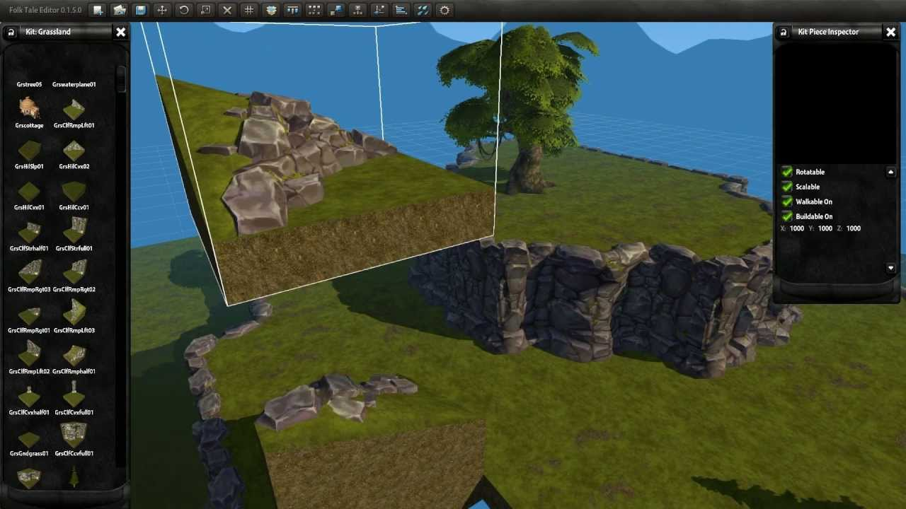 Folk Tale Dev Blog 9: Location Editor - YouTube