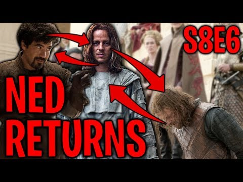 S8E6 Ned Stark Returns ? Ned Stark = Jaqen H'ghar = Syrio Forel ?! | Game of Thrones