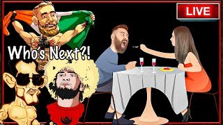 🔴 DISCUSSING DANA WHITE'S PLANS FOR CONOR MCGREGOR'S NEXT FIGHT OVER DINNER - IRL STREAM with TTS!