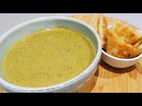 soupe-de-lentilles-vertes/-شوربة-العدس-الاخضر-سريعه-ولذيذه