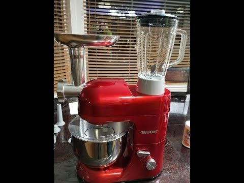 CHEFTRONIC Stand Mixers 3 in 1 Kitchen Appliance - YouTube
