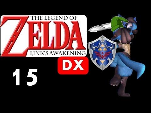 Getting Wet in Anglers Tunnel! | Legend of Zelda Link's Awakening DX [15]
