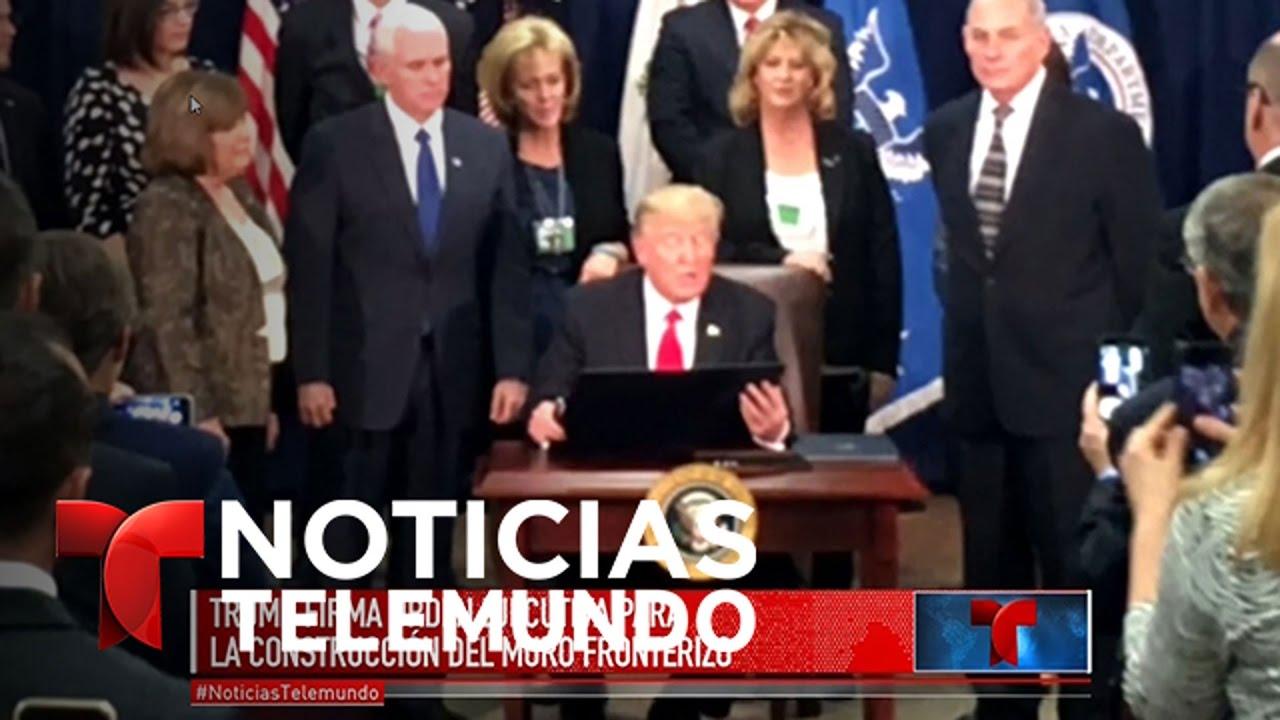 La construcción del muro parece no modificar la economía | Noticiero | Noticias Telemundo