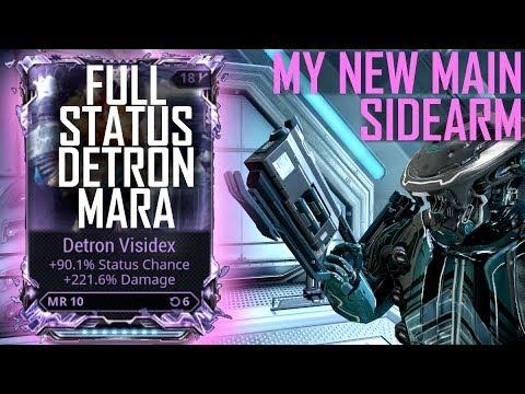 RIVEN MODDED DETRON MARA [full status pocket shotty that's better than pyrana]