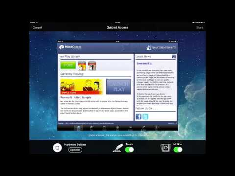 Enabling Guided Access iOS7 - Newport Primary School Guide