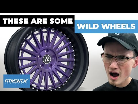 This New Wheel Company Created The Wildest Wheels To Date!? | Revolve Wheels