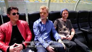O Rock in Rio levou alguns fãs para acompanharem o anuncio oficial ...