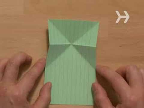 How To Make An Origami Jumping Frog Youtube