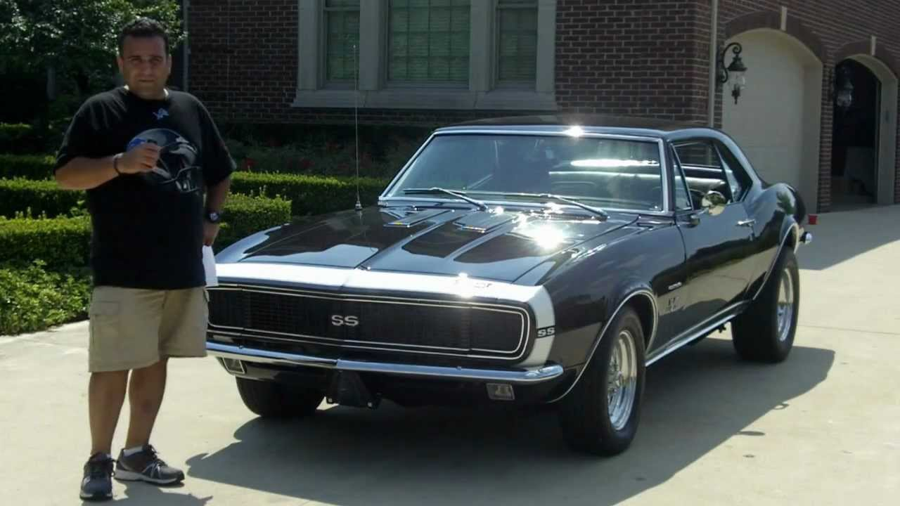 1967 Chevy Camaro Rsss Classic Muscle Car For Sale In Mi Vanguard Motor Sales Youtube