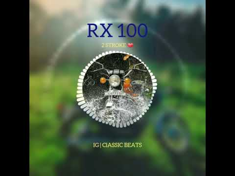 RX 100 sound  whatsapp status  for RX lovers