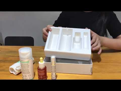 Paper Pulp Molded Skincare Packaging Tray Display