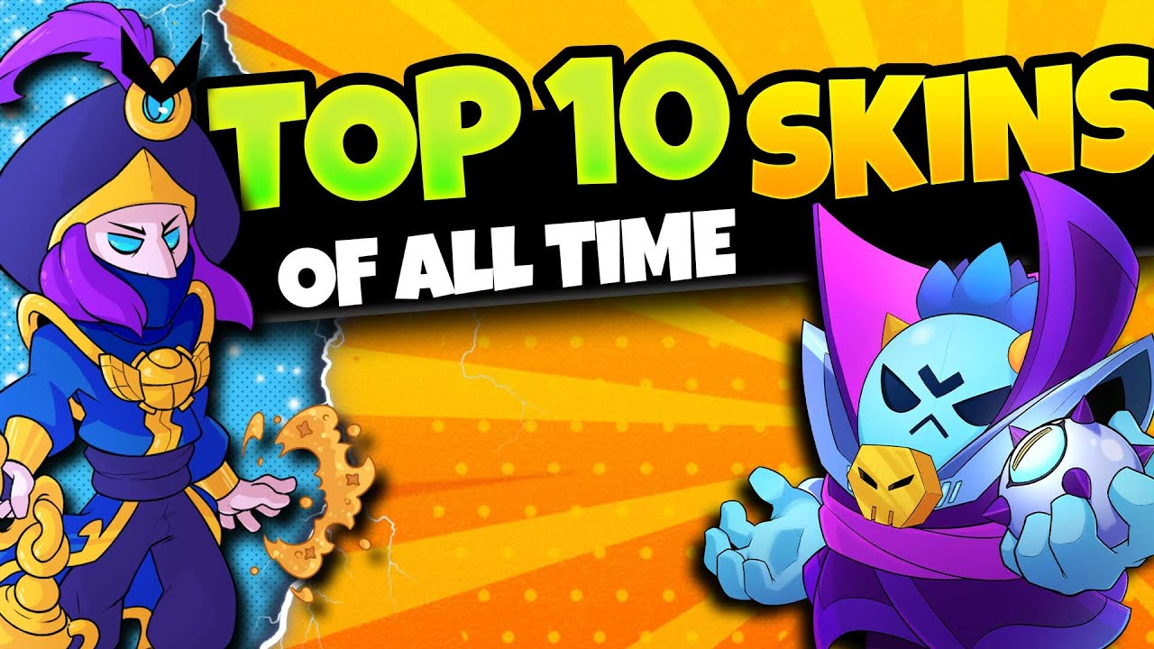 Download Top 10 BEST Skins Brawl Stars Has EVER Made