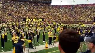 Michigan Wolverines Fight Song (Big House) Michigan vs Oregon State