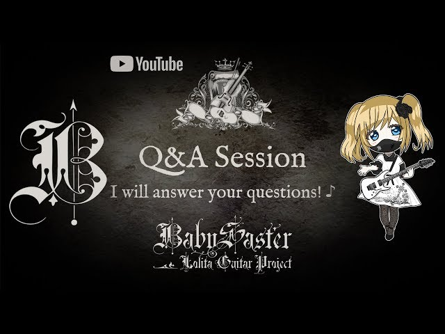 《Q&A Announcement!》♪ September 14 † BabySaster 【CLOSED】