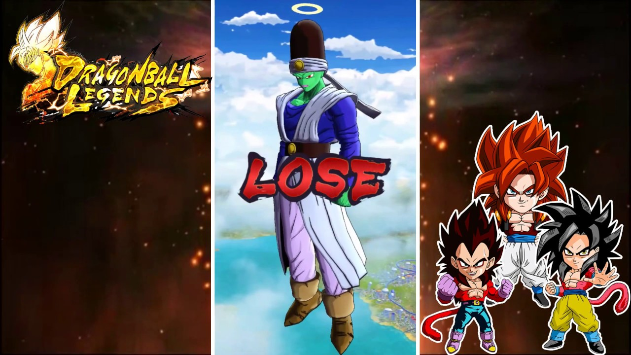 MATCHS PvP Classés - Dragon Ball Legends