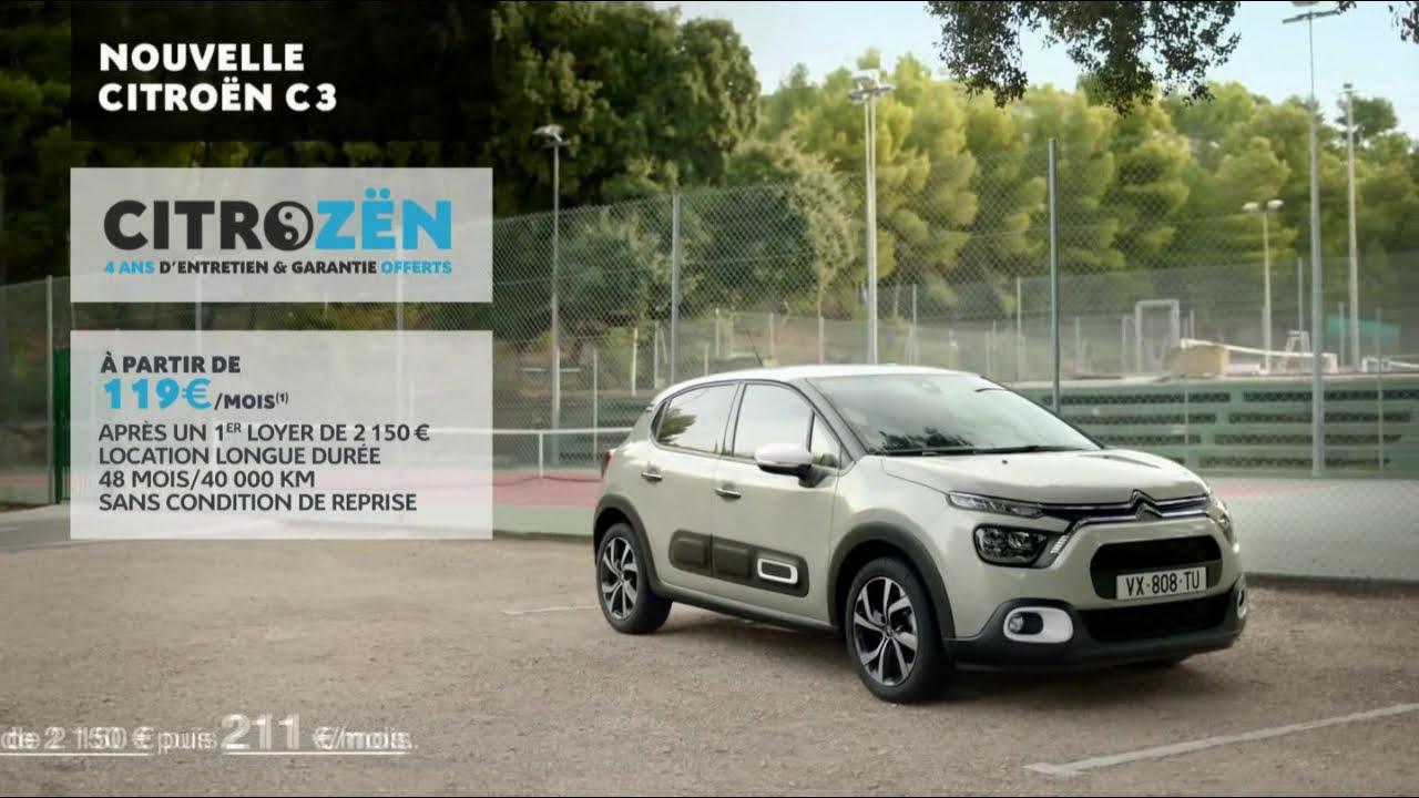 """Musique de la pub Nouvelle Citroën C3 – Ctrozën """"le match de tennis""""  Mai 2021"""