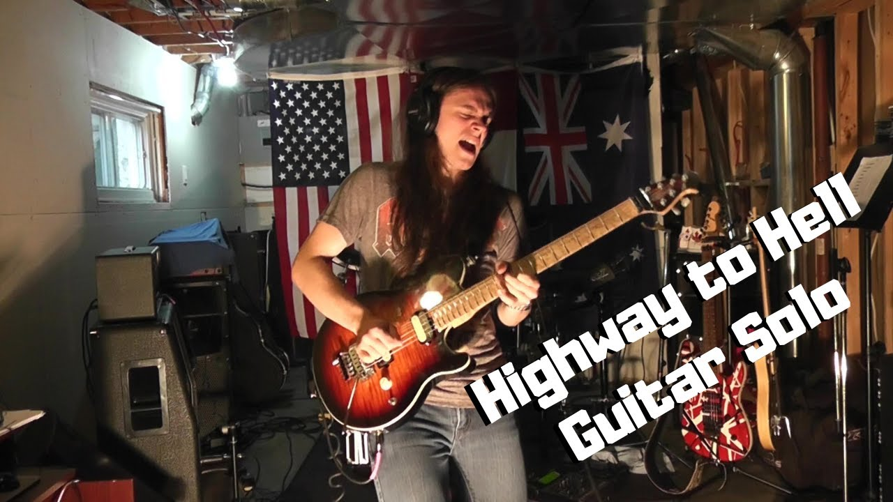 ac dc highway to hell isolated guitar solo youtube. Black Bedroom Furniture Sets. Home Design Ideas