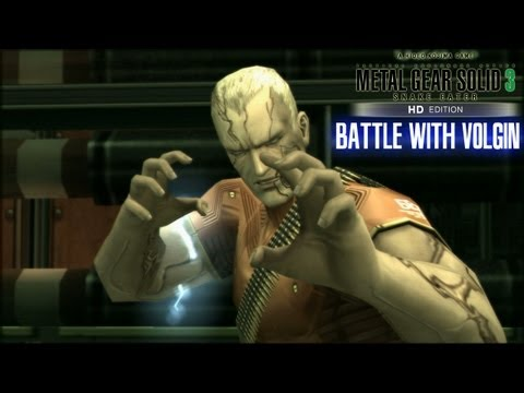 Metal Gear Solid 3 Snake Eater: Battle With Volgin