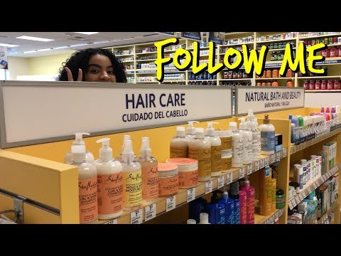 Vitamin Shoppe: Follow Me To Look At Hair Products!