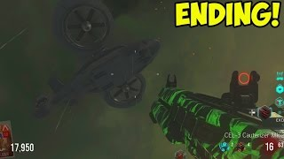 Call of Duty: Advanced Warfare EXO ZOMBIES - EASTER EGG ENDING! Rescue Ending! (NEW COD Exo Zombies)