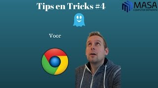 Tips en Tricks #4 installeren van Ghostery voor Google Chrome