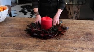 Funky Ways To Decorate An Old Wood Table : Easy Designing & Decorating Tips