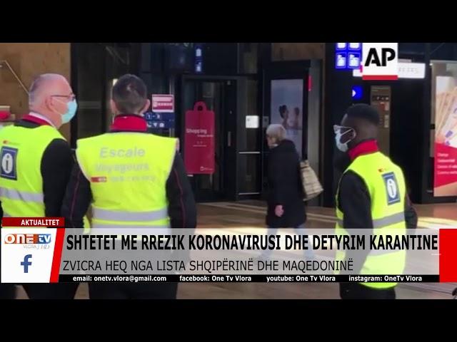 Zvicra heq nga lista e kufizimeve Shqipërinë dhe Maqedoninë