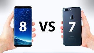 Samsung Galaxy S8 VS iPhone 7 - ULTIMATE In-Depth Comparison!