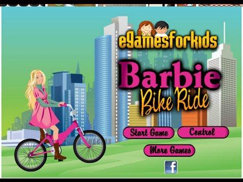 Play Barbie Games Free Online Barbie Bike Ride Game