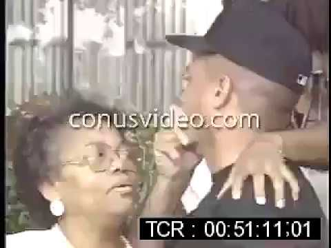 EazyE's Mom and DJ Yella get Emotional during press conference 1995