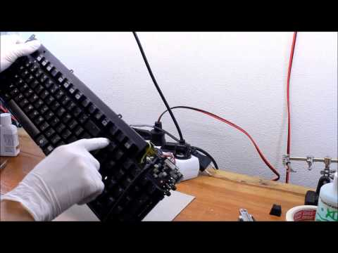 How to replace backlight LEDs and Cherry MX switches in a mechanical keyboard.