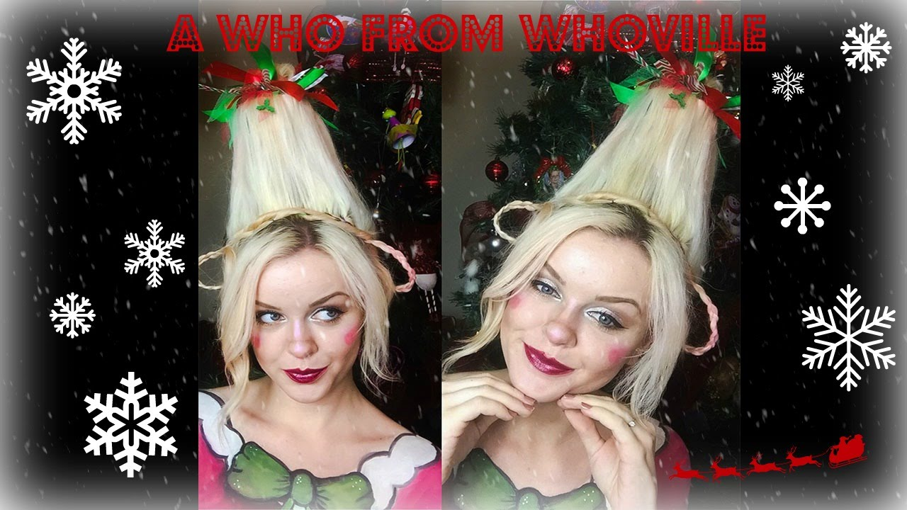 a who from whoville | makeup & hair tutorial