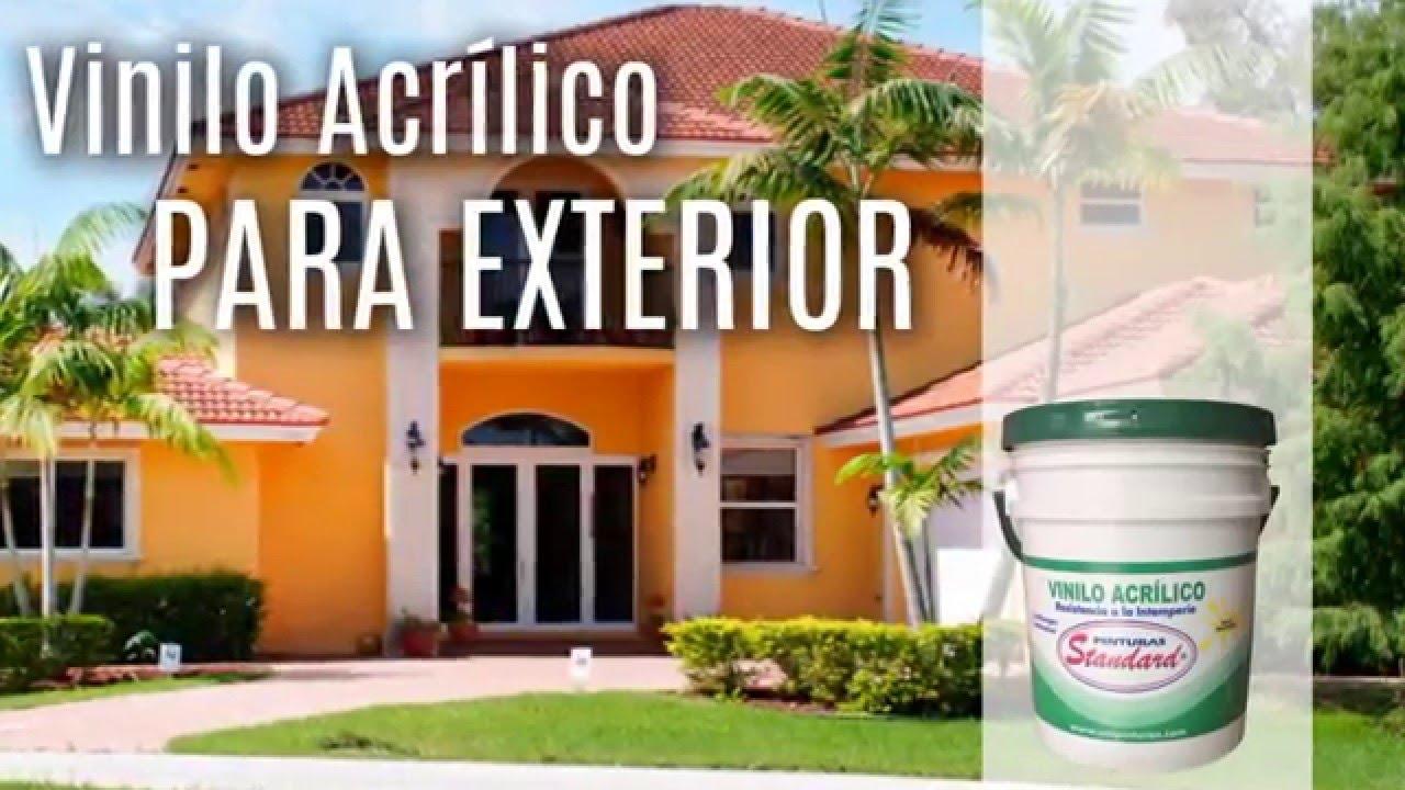 Vinilo acr lico para exteriores pintura fachadas youtube for Pintura para exteriores de casa 2016
