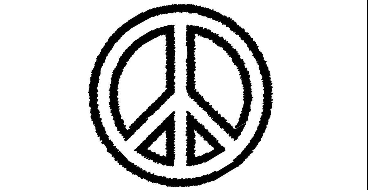 Draw A Tattoo Peace Symbol Scribble Youtube