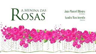 capa de A Menina das Rosas de João Manuel Ribeiro