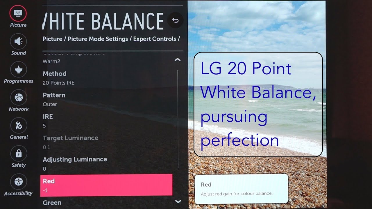 Is it worth it? LG 55E6V OLED Calibration Part 3 20 Point White Balance  Calibration