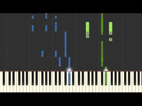 25 Pop Songs Piano Medley 2016 Synthesia (MIDI + Sheet)