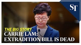 -big-story-carrie-lam-extradition-bill-dead-straits-times-09-07-19