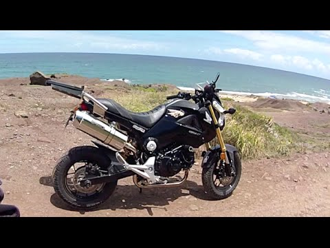 hawaii off road with the honda grom youtube. Black Bedroom Furniture Sets. Home Design Ideas