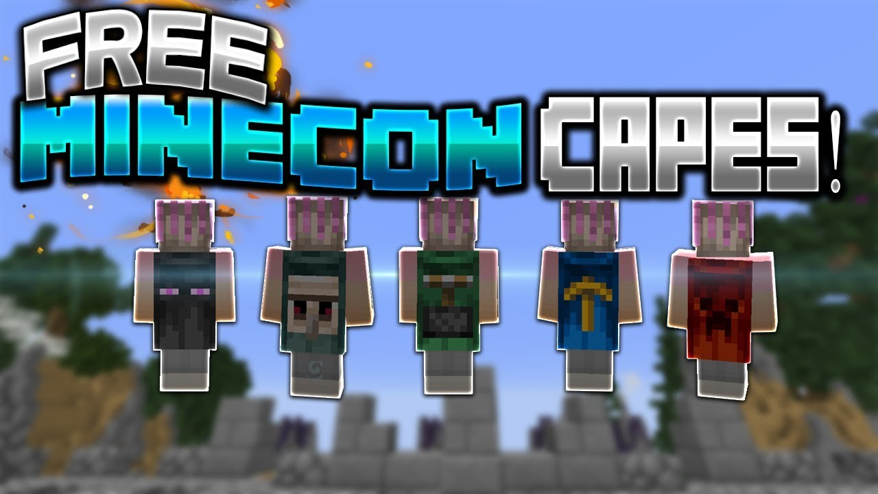 HOW TO GET FREE MINECON & MOJANG CAPES! [1.7.10] [WORKS ...