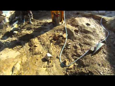 core drill & rocksplitter