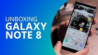 Samsung Galaxy Note 8 [Unboxing]