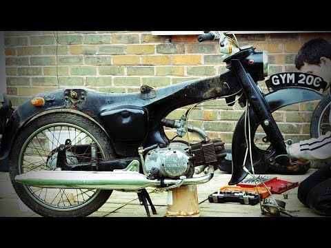 Honda c200 Project Bike Part 2