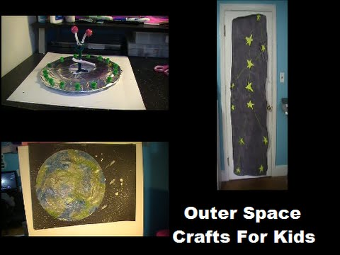space craft ideas for kids outer space crafts for 7167